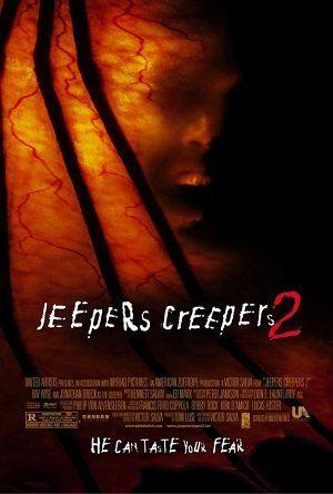 Poster of Jeepers Creepers 2 2003 Full Hindi Dual Audio Movie Download BluRay 720p