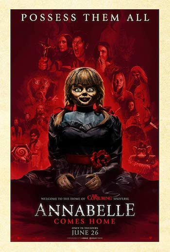 Annabelle Comes Home 2019 Dual Audio Hindi 480p HDRip 300mb