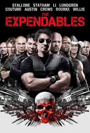 Poster of The Expendables 2010 Full Hindi Dual Audio Movie Download BluRay 720p