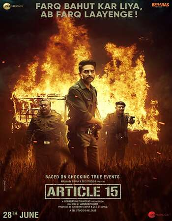 Article 15 2019 Full Hindi Movie 720p HDRip Download