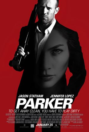 Poster of Parker 2013 Full Hindi Dual Audio Movie Download BluRay 720p