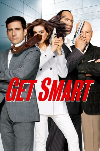 Poster of Get Smart 2008 Full Hindi Dual Audio Movie Download BluRay 720p