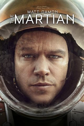 Poster of The Martian 2015 Full Hindi Dual Audio Movie Download BluRay 720p