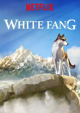 Poster of White Fang 2018 Full Hindi Dual Audio Movie Download HDRip 720p