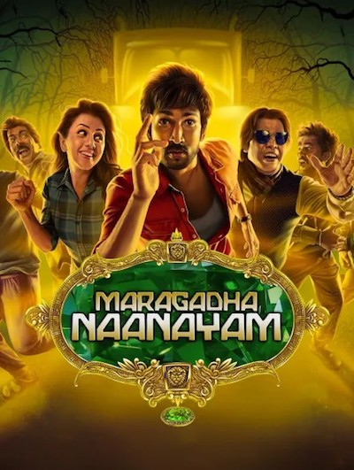 Maragatha Naanayam 2017 UNCUT Dual Audio Hindi 480p HDRip 350MB