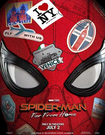 Spider Man Far from Home 2019 Hindi Dual Audio HC HDRio Full Movie 720p Download