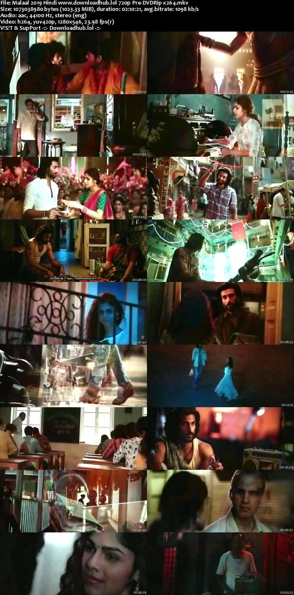 Malaal 2019 Hindi 720p Pre-DVDRip x264