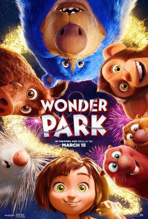 Poster of Wonder Park 2019 Full English Movie Download BluRay 720p