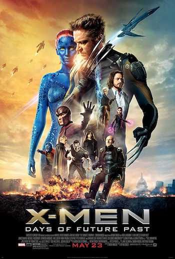 X-Men Days of Future Past 2014 Dual Audio Hindi Full Movie Download