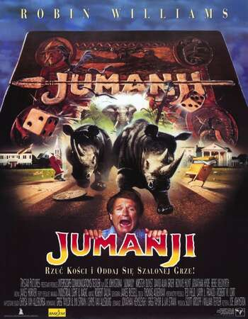 Jumanji 1995 Hindi Dual Audio BRRip Full Movie 720p Download