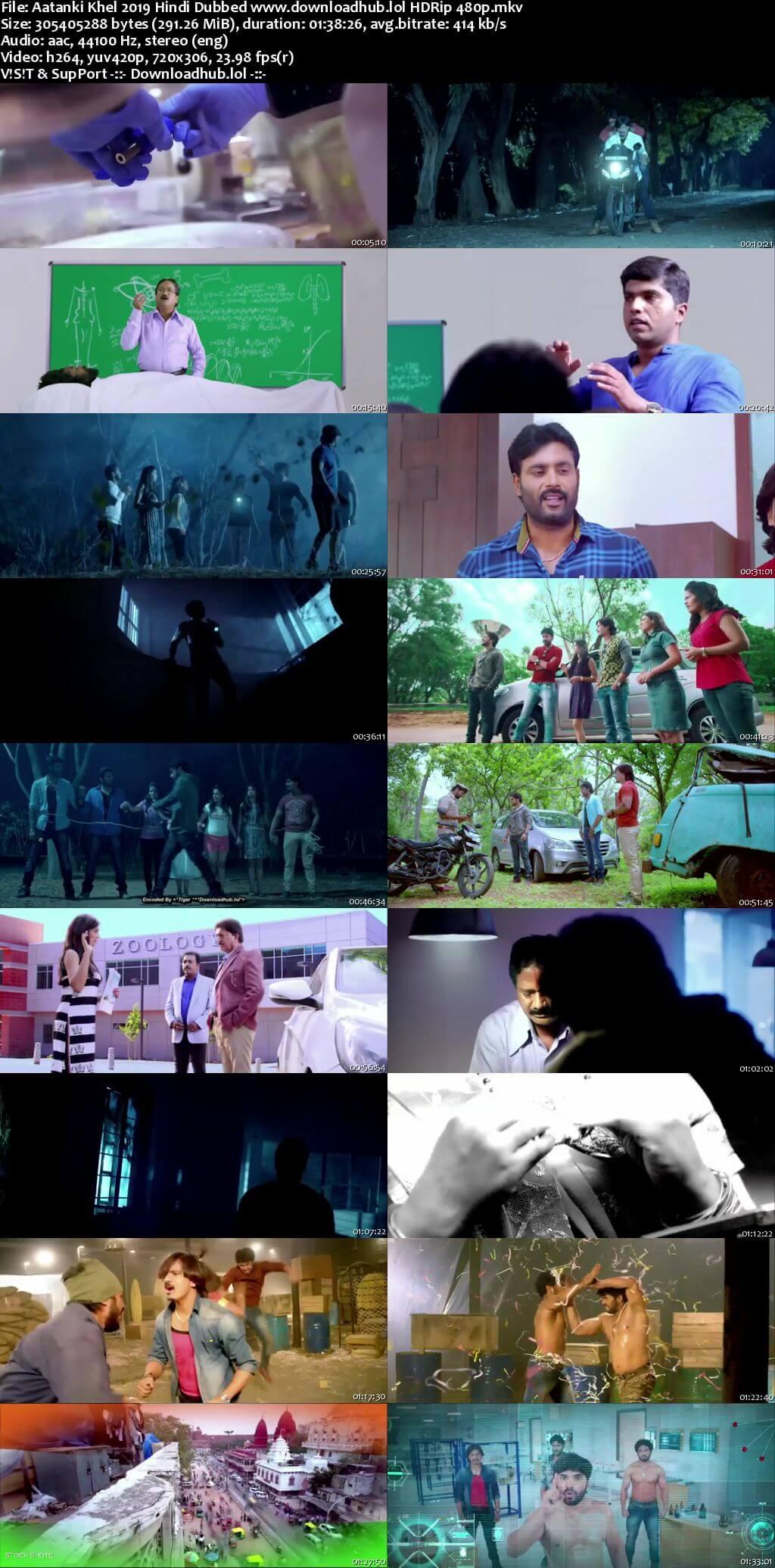 Aatanki Khel 2019 Hindi Dubbed 280MB HDRip 480p