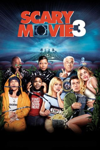Poster of Scary Movie 3 2003 Full Hindi Dual Audio Movie Download HDTVRip Hd 720p