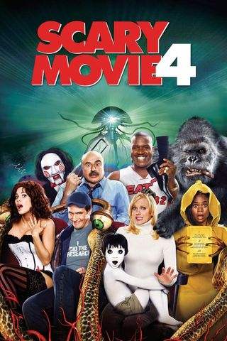 Poster of Scary Movie 4 2006 Full Hindi Dual Audio Movie Download BluRay Hd 720p