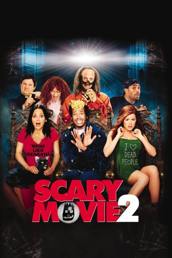 Poster of Scary Movie 2 2001 Full Hindi Dual Audio Movie Download BluRay Hd 720p