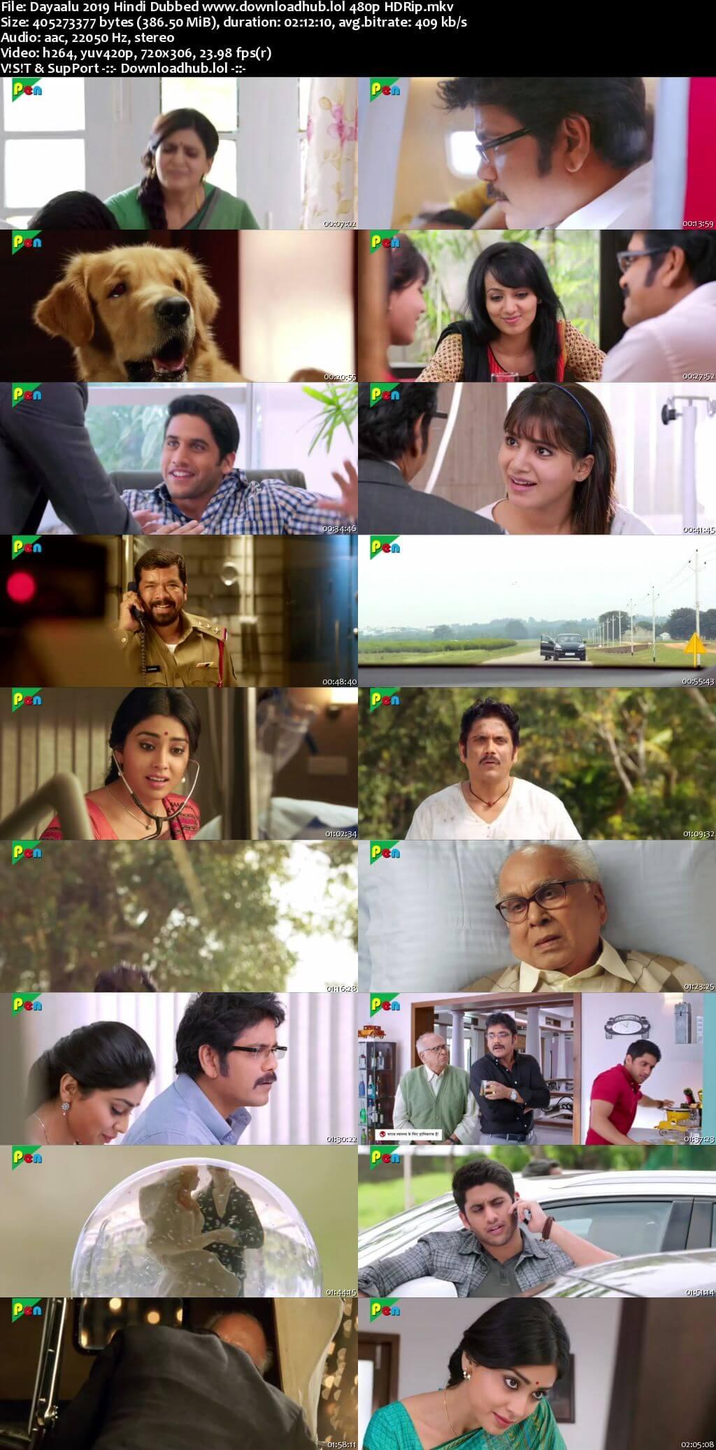 Dayaalu 2019 Hindi Dubbed 350MB HDRip 480p