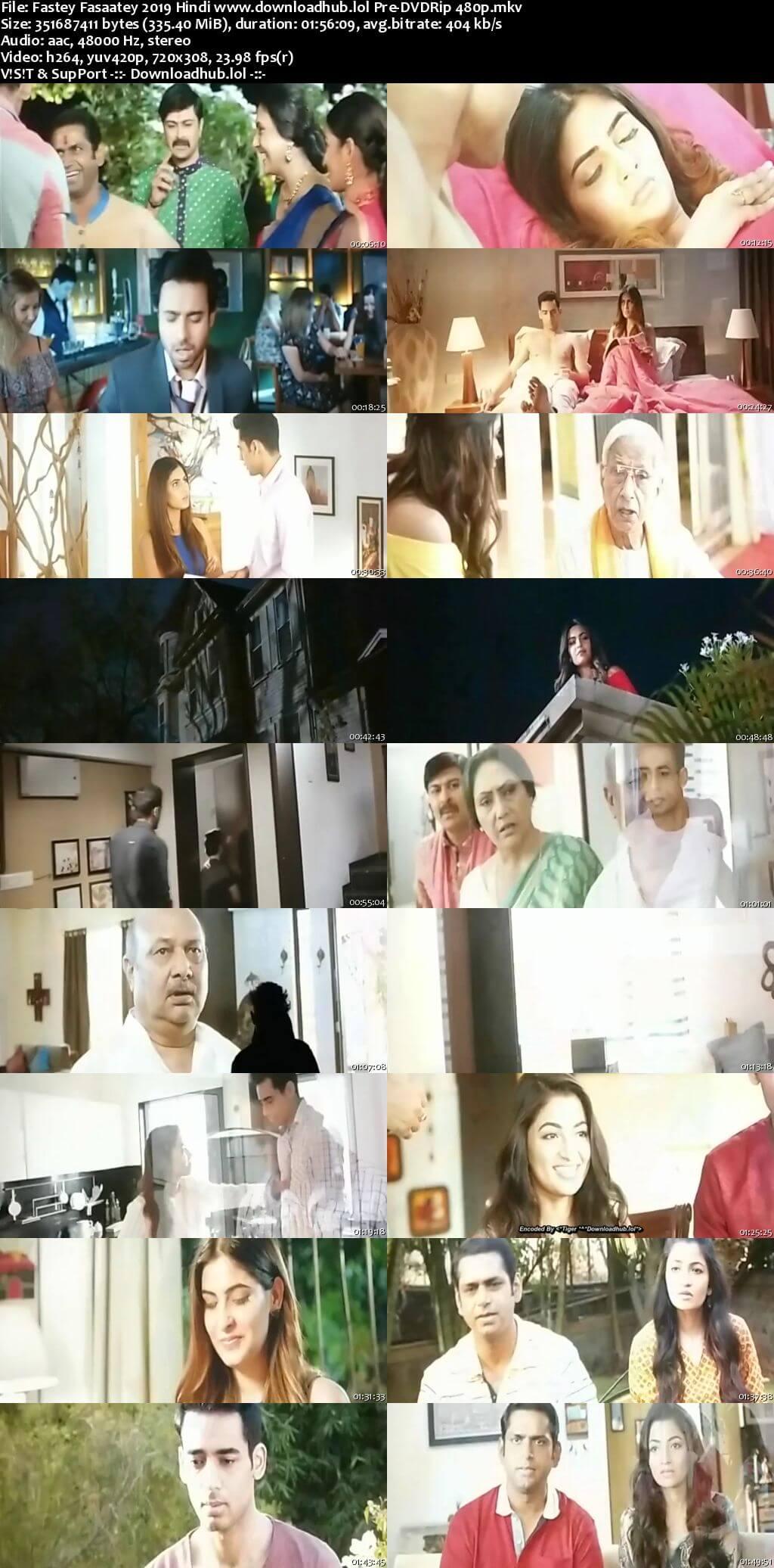 Fastey Fasaatey 2019 Hindi 300MB Pre-DVDRip 480p