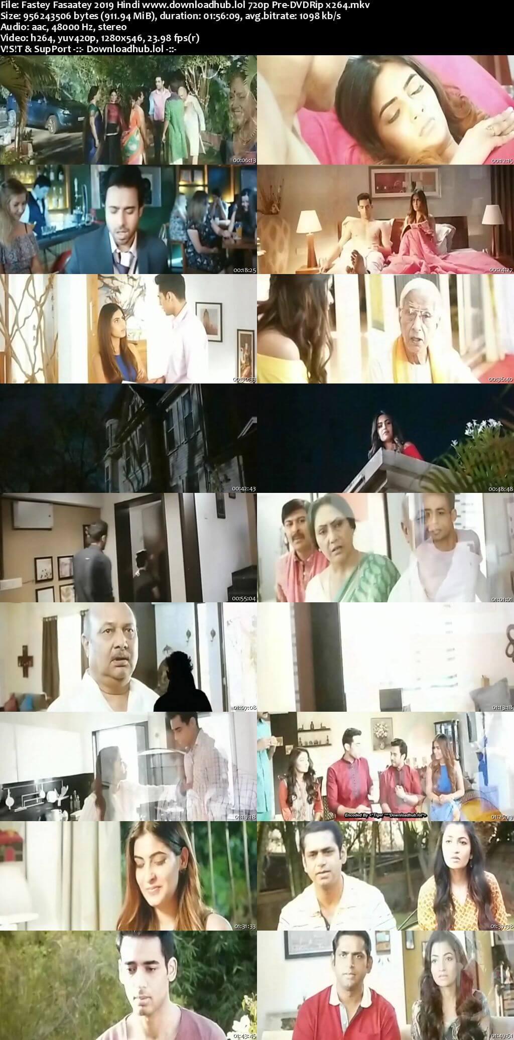 Fastey Fasaatey 2019 Hindi 720p Pre-DVDRip x264