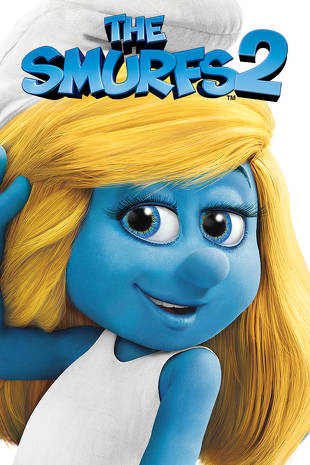 Poster of The Smurfs 2 2013 Full Hindi Dual Audio Movie Download BluRay Hd 720p