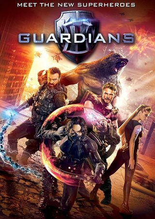 Poster of Guardians 2017 Full Hindi Dual Audio Movie Download BluRay Hd 720p