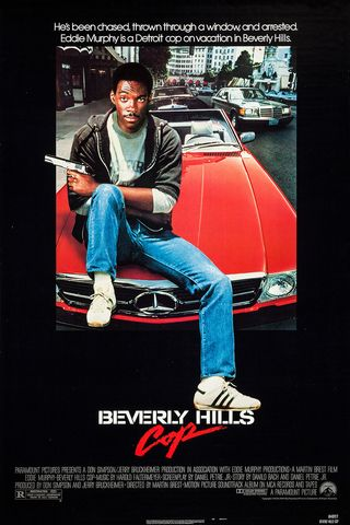 Poster of Beverly Hills Cop 1984 Full Hindi Dual Audio Movie Download BluRay Hd 720p
