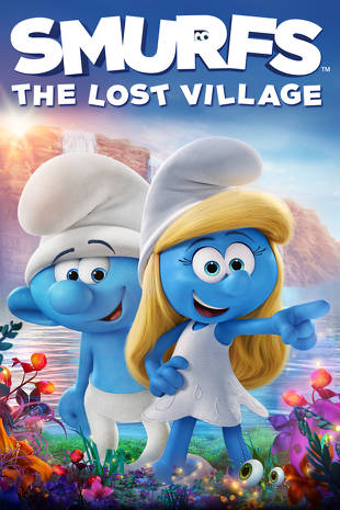 Poster of Smurfs: The Lost Village 2017 Full Hindi Dual Audio Movie Download BluRay Hd 720p