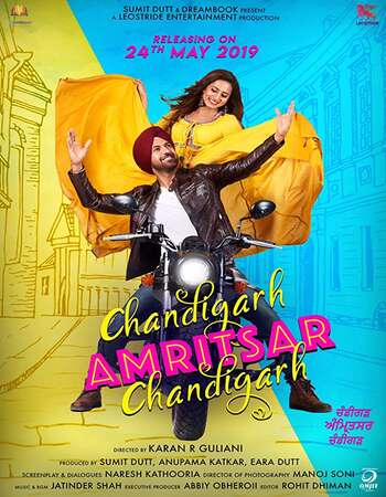 Chandigarh Amritsar Chandigarh 2019 Full Punjabi Movie 720p HEVC Download