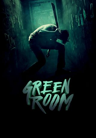 Poster of Green Room 2015 Full Hindi Dual Audio Movie Download BluRay Hd 480p
