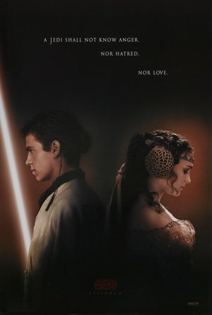 Poster of Star Wars: Episode II – Attack of the Clones 2002 Full Hindi Dual Audio Movie Download BluRay Hd 720p