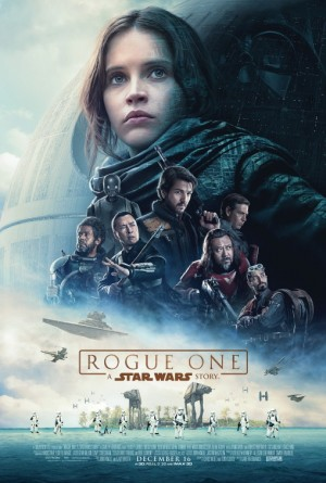Poster of Rogue One : A Star Wars Story 2016 Full Hindi Dual Audio Movie Download BluRay Hd 480p