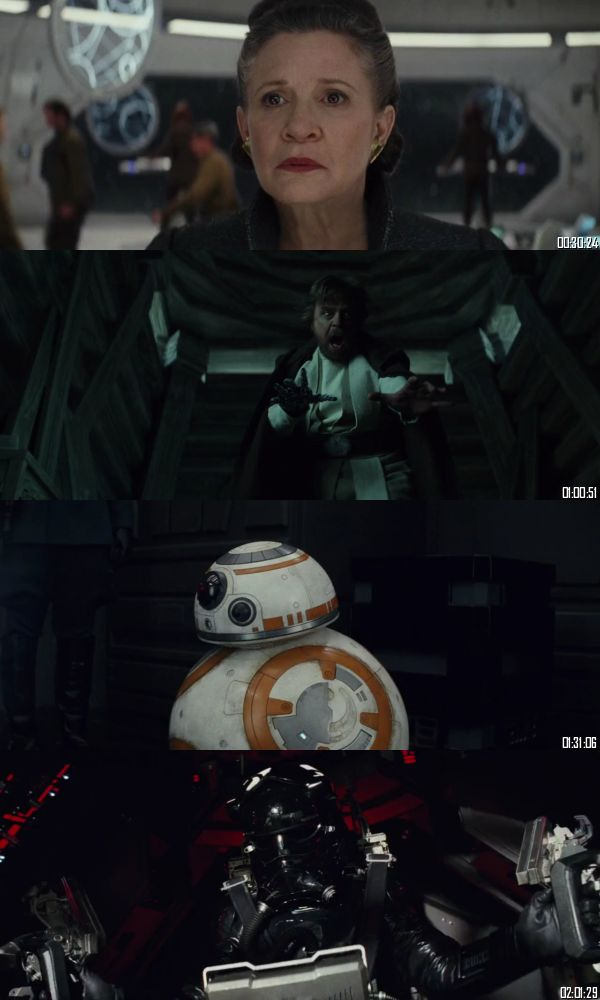 Star Wars The Last Jedi 2017 BluRay 720p 480p Dual Audio Hindi English Full Movie Download