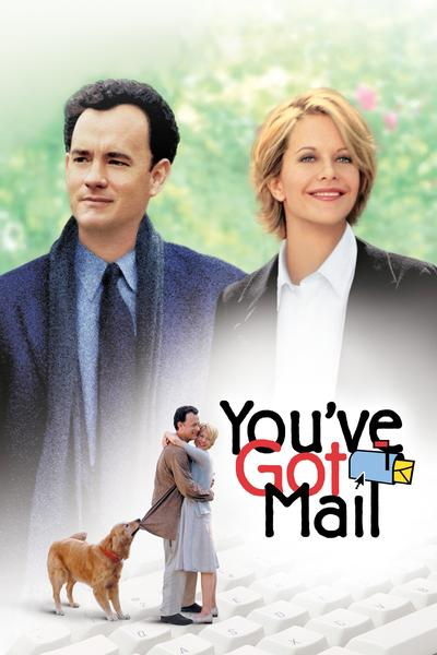 Poster of You've Got Mail 1998 Full Hindi Dual Audio Movie Download BluRay Hd 720p