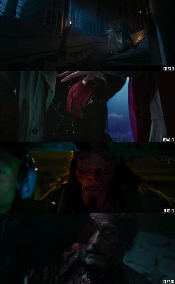 Hellboy 2019 HDRip 720p 480p Dual Audio Hindi English Full Movie Download
