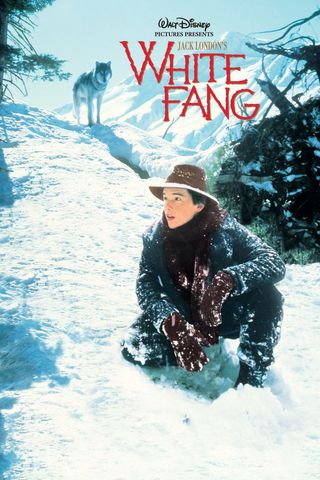 Poster of White Fang 1991 Full Hindi Dual Audio Movie Download HDRip Hd 720p