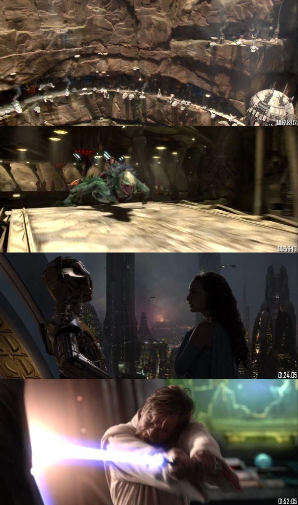 Star Wars Revenge of The Sith 2005 BluRay 720p 480p Dual Audio Hindi English Full Movie Download