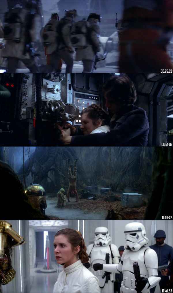 Star Wars Episode V - The Empire Strikes Back 1980 BluRay 720p 480p Dual Audio Hindi English Full Movie Download