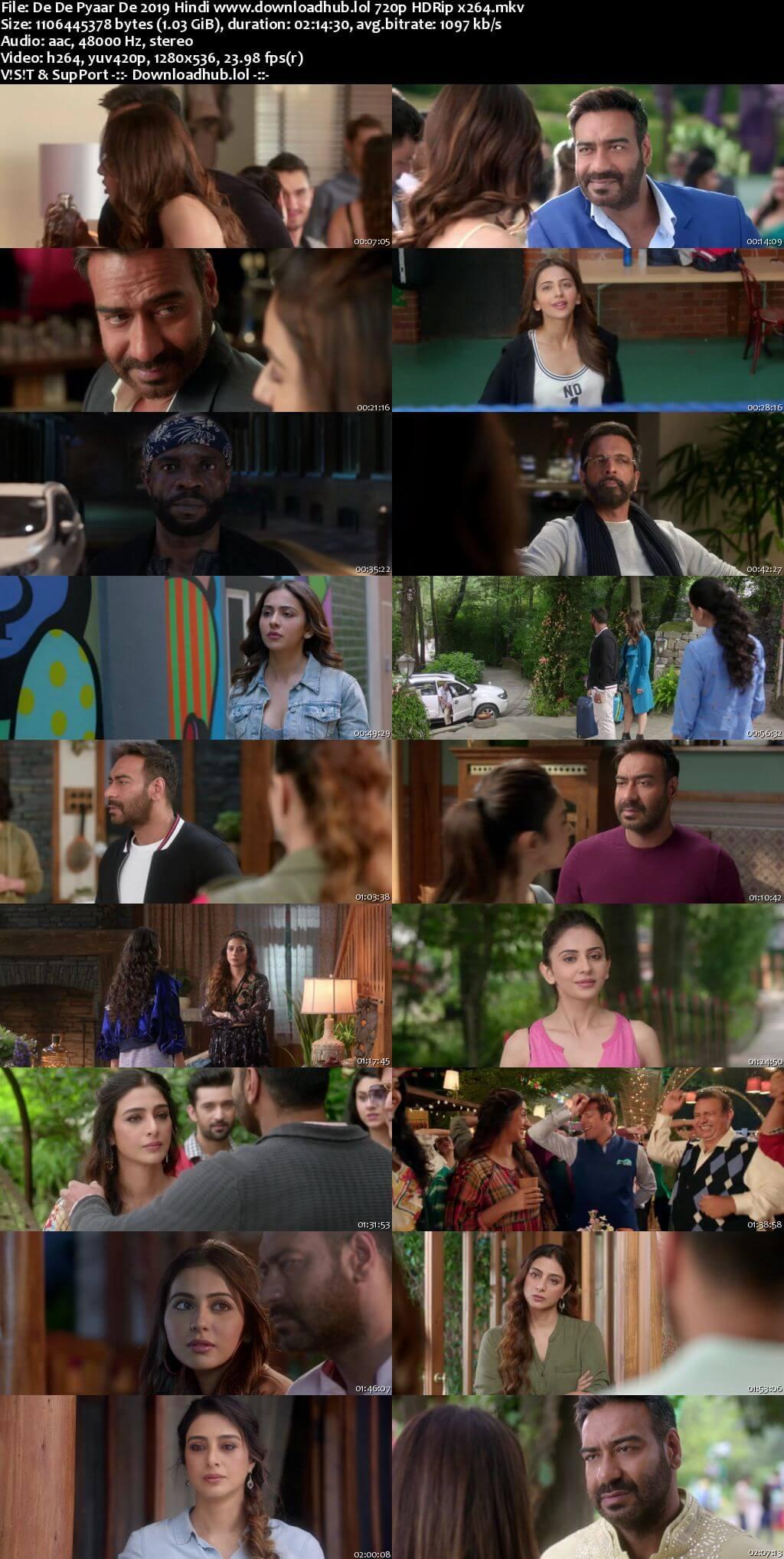 De De Pyaar De 2019 Hindi 720p HDRip x264
