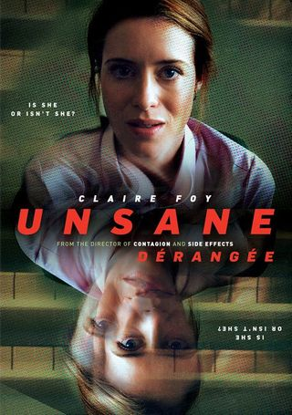 Poster of Unsane 2018 Full Hindi Dual Audio Movie Download BluRay Hd 480p