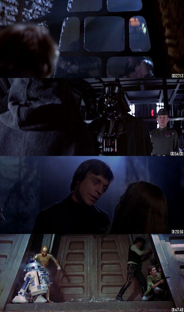 Star Wars Return Of The Jedi 1983 BluRay 720p 480p Dual Audio Hindi English Full Movie Download