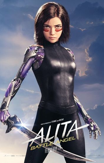 Alita: Battle Angel 2019 1080p BRRip Dual Audio In Hindi English
