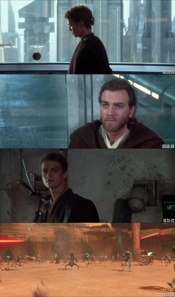 Star Wars Attack of the Clones 2002 BluRay 720p 480p Dual Audio Hindi English Full Movie Download