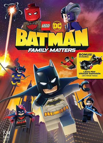 Lego DC Batman Family Matters 2019 English Movie Download