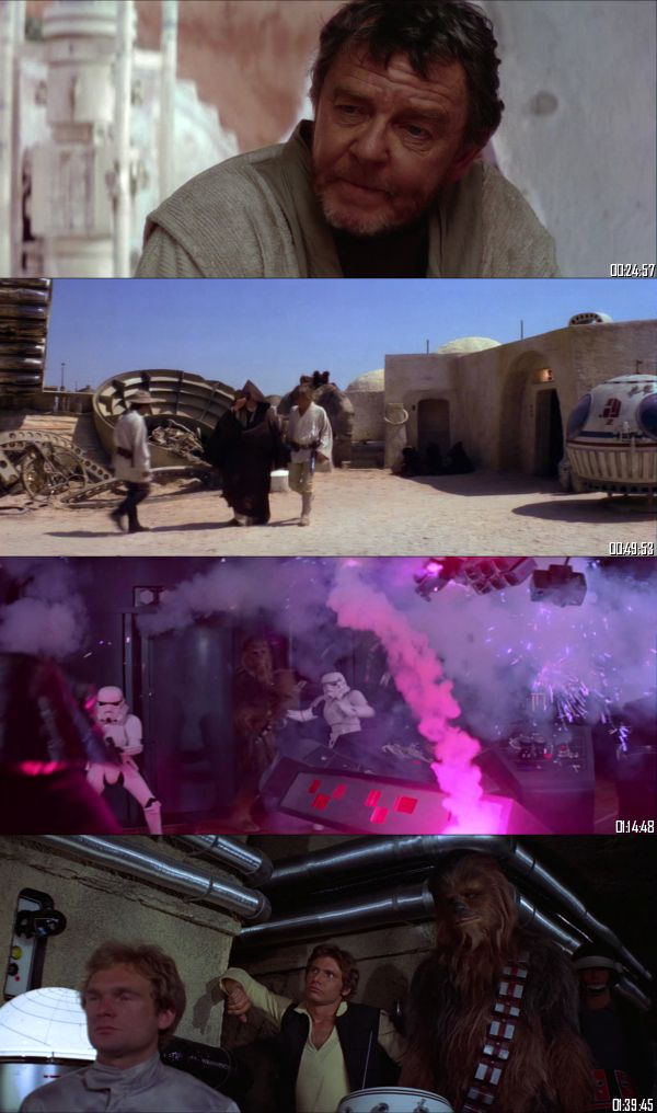 Star Wars Episode IV - A New Hope 1977 BluRay 720p 480p Dual Audio Hindi English Full Movie Download