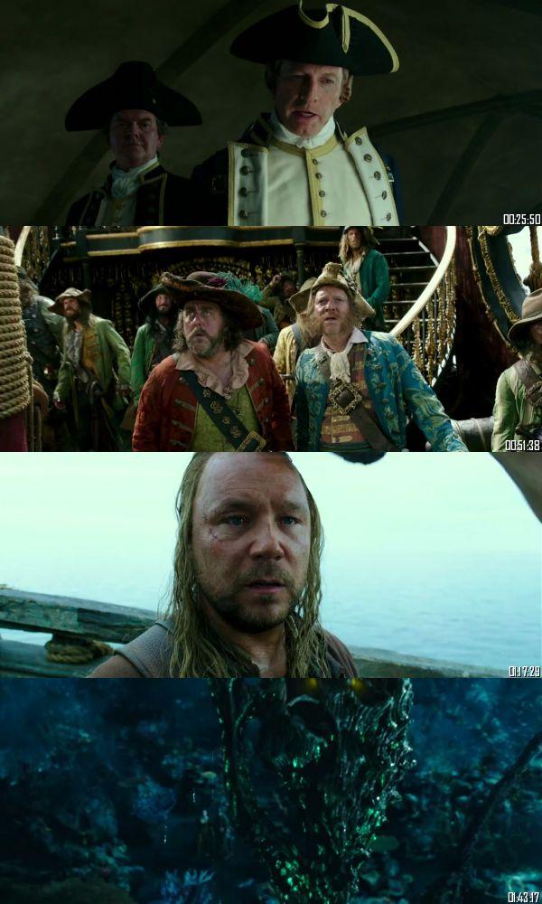 Pirates of The Caribbean Dead Men Tell No Tales 2017 BRRip 720p 480p Dual Audio Hindi English Full Movie Download