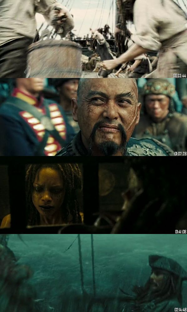 Pirates of the Caribbean At Worlds End 2007 BRRip 720p 480p Dual Audio Hindi English Full Movie Download