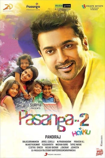 Pasanga 2 2019 Hindi Dubbed 720p HDRip 850mb