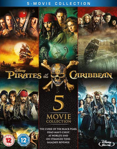 Pirates of The Caribbean Collection (2003-2017) All Movies Dual Audio Hindi Full Movie Download