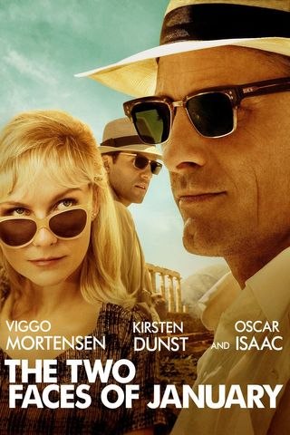 Poster of The Two Faces of January 2014 Full Hindi Dual Audio Movie Download BluRay Hd 720p