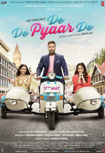 De De Pyaar De 2019 Hindi 480p WEB-DL 350MB