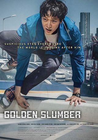 Poster of Golden Slumber 2018 Full Hindi Dual Audio Movie Download BluRay Hd 720p