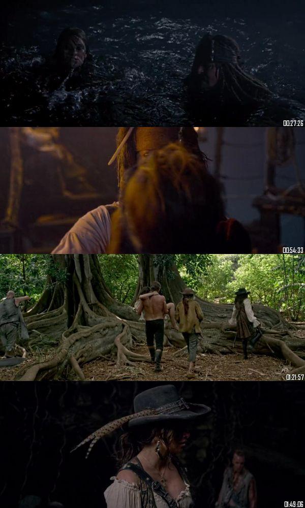 Pirates of the Caribbean On Stranger Tides 2011 BRRip 720p 480p Dual Audio Hindi English Full Movie Download